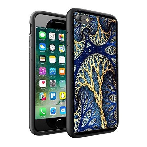 iPhone X Hülle, einzigartige Custom Design Prodective harte zurück dünner dünner Fit PC Bumper Case Kratzfeste Abdeckung für iPhone X - Mandala 0057
