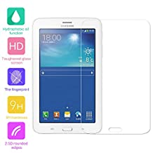 Tempered Glass Screen Protector for Samsung Galaxy Tab 3 Lite 7.0 inch (T110/T111) Tablet - fengus Premium Crystal Clear Film Display Protector Guard Cover with 9H Hardness (1 Pack)