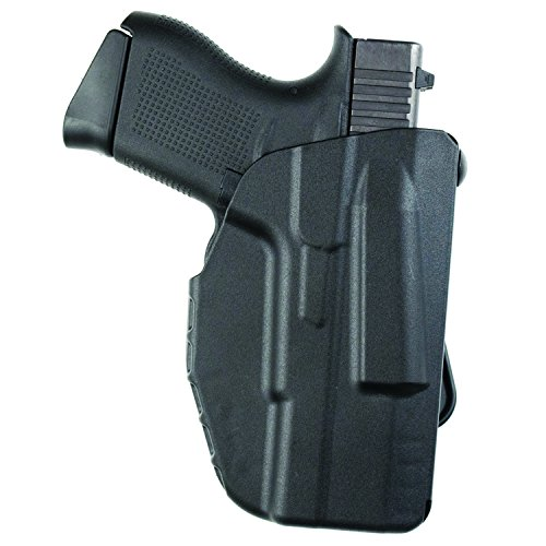 Safariland 7371 7TS ALS Slim, Concealment Holster w/Micro-Paddle, SafariSeven Black, Right Hand, S&W M&P Shield 9mm.40 by Safariland