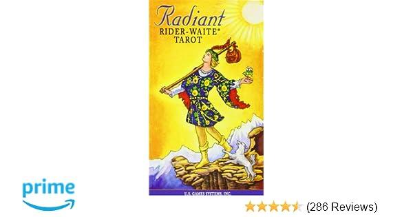 Radiant Rider-Waite Tarot: Us Games Systems: 9781572814134 ...