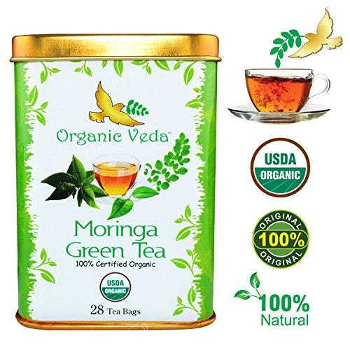 Organic Moringa Green Tea Preservatives