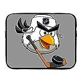 Custom Funny Hockey Birds Waterproof Notebook Protective Case Bag 15 Inch