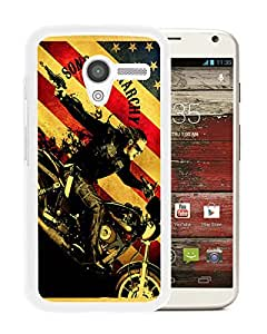 Sons Of Anarchy TV Series White Newest Custom Design Motorola Moto X Phone Case