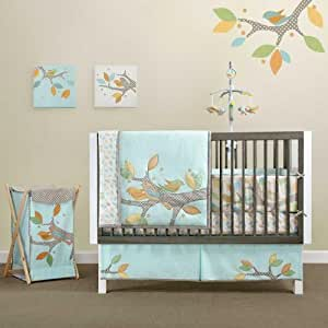 Bananafish Migi Little Tree 4 Piece Crib Bedding Set