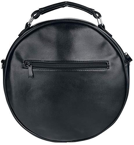 Banned Malice Rockabilly Spider Gothic Apparel Bag Shoulder Web Round BHB7rawxq