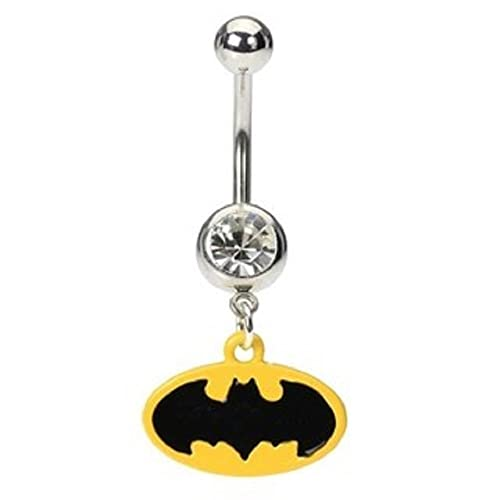 Amazon Com Batman Belly Button Ring Jewelry