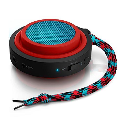 Philips BT2000R/37 Wireless Portable Speaker (Red)