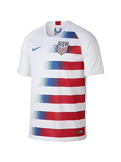 bd910ae15be Amazon.com   NIKE Men s Soccer U.S. Home Jersey   Sports   Outdoors