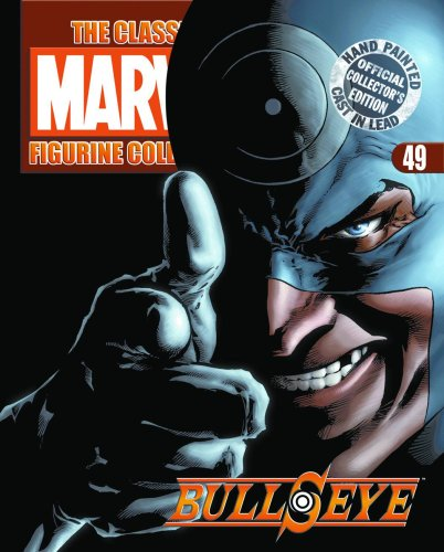 Classic Marvel Figurine Collection and Mag: Bullseye,, used for sale  Delivered anywhere in USA
