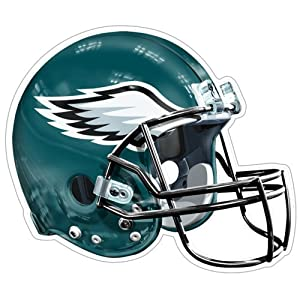 NFL Philadelphia Eagles Logo Helmet Magnet (Pack of 1)