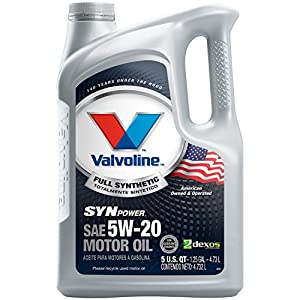 Valvoline 5W-20 SynPower Full Synthetic Motor Oil - 5qt (787023)