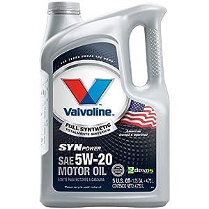 Valvoline SynPower 5W-20 Full Synthetic Motor Oil - 5qt (787023)