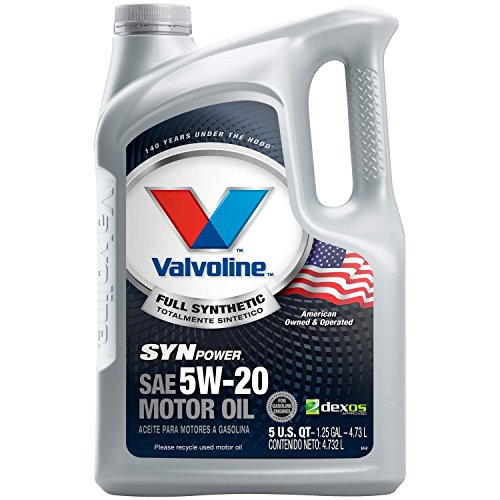 Valvoline SynPower 5W-20 Full Synthetic Motor Oil - 5qt (787023) (20 Motor Oil)