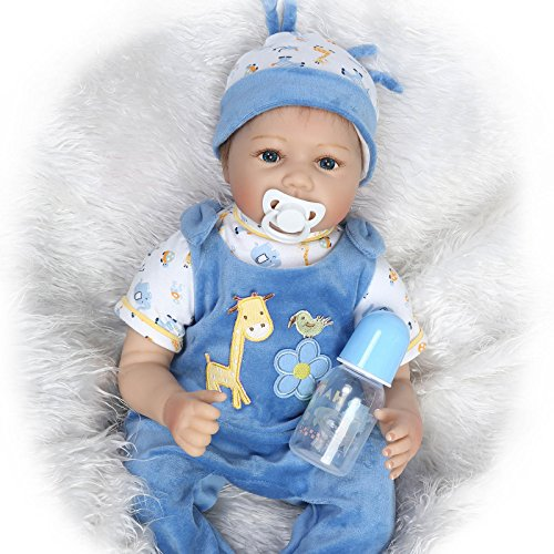 NPK Collection Reborn Baby Doll realistic baby dolls Vinyl Silicone Babies 22inch 55cm Newborn real baby doll Life