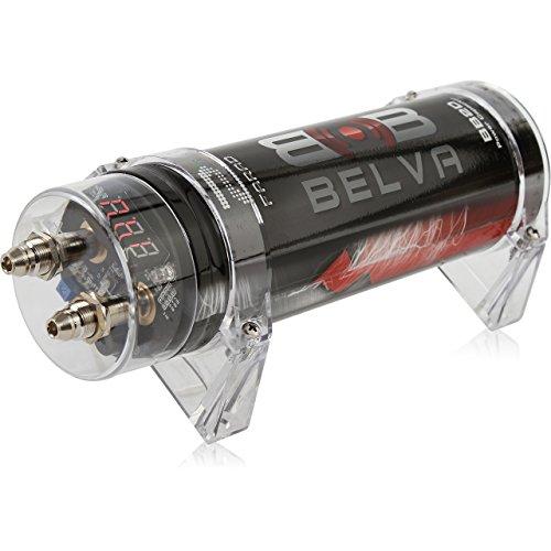 Belva 2.0 Farad Power Capacitor - Red Digital Voltage Display [BB2D]