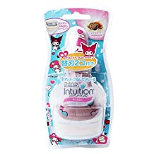 Schick Intuition application My Melody design handle Skintimate Razor pink