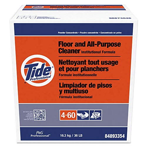 - Tide Professional PGC 02364 Floor And All-Purpose Cleaner, 36lb Box