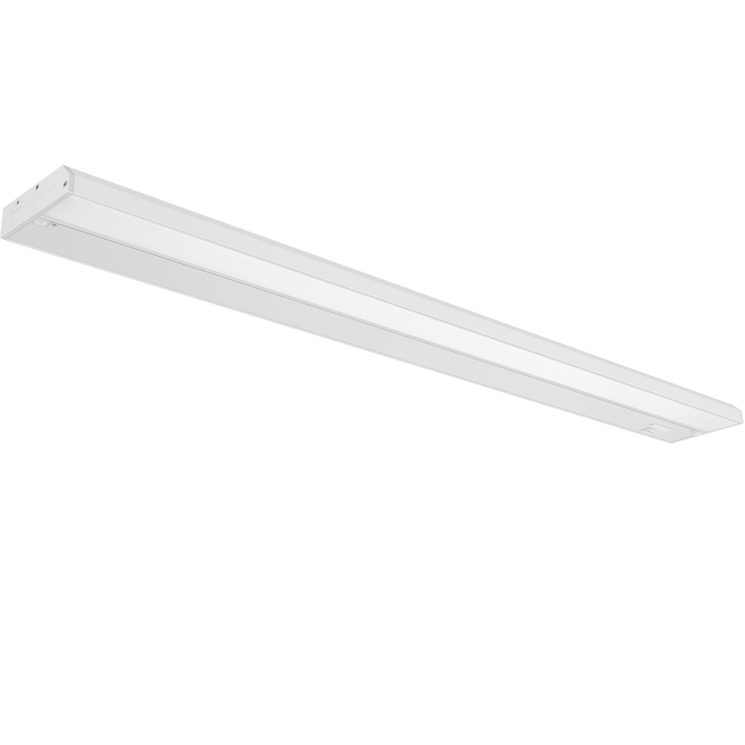 GetInLight 3 Color Levels Dimmable LED Under Cabinet Lighting with ETL Listed, Warm White (2700K), Soft White (3000K), Bright White (4000K), White Finished, 32-inch, IN-0210-4