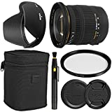 Sigma17-50mm f/2.8 EX DC OS HSM Zoom Lens for Canon DSLRs with APS-C Sensors + Essential Bundle Kit + 1 Year Warranty - International Version