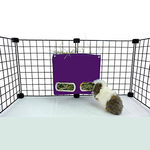 - Guinea Pig Hay Bag Feeder (Small, Purple)