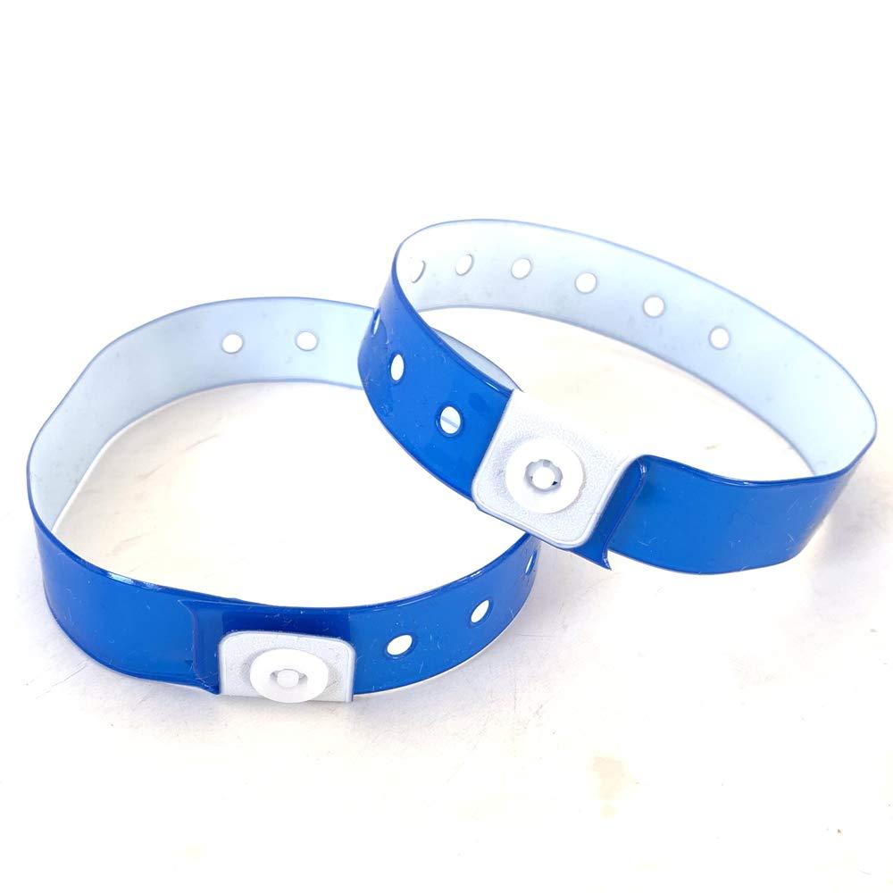 /Personalizzabile e impermeabile 500 Rosa Set di braccialetti plastica//Vinile per eventi/
