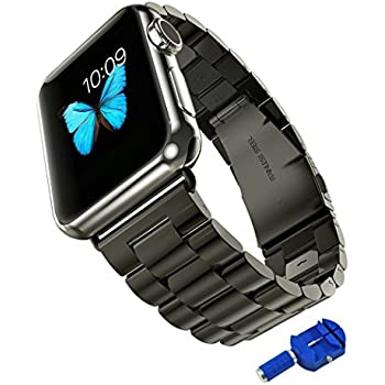 Stainless Steel Metal Replacement Apple Watch Band $24.99 @Amazon online deal