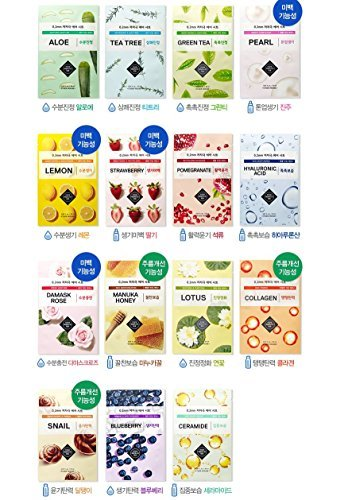 Etude House 0.2mm Therapy Air Mask X 15pcs ( Differen Kinds (0.2 Mm Hi Line)
