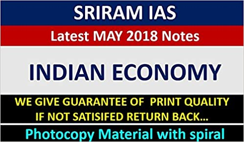 Amazon in: Buy SRIRAM IAS Economic Booklet PART -1 & 2 LATEST 2018