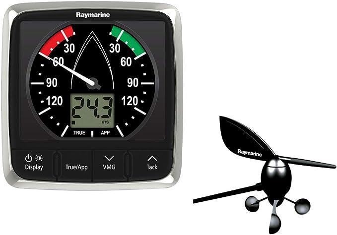 Raymarine i60 Pack de Viento con Veleta de Brazo Corto Resistencial al Agua IPX6 E70150: Amazon.es: Deportes y aire libre