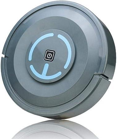 aspirazione 2000PA indicatori LED Mini aspirapolvere Robot Automatico e Scopa Strumento spazzatrice per Pavimenti Domestici ZUHANGMENG Aspirapolvere Robot Intelligente Ricarica USB