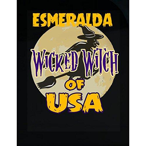 Halloween Costume Esmeralda Wicked Witch Of Usa Great Personalized Gift - Sticker -