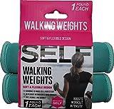 SELF green walking weights - pair - 2 lb per pair -1 lb each