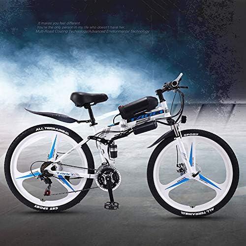 AKEFG Bicicleta eléctrica de montaña Hybrid, Bicicleta eléctrica ...