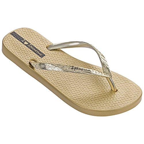 Ipanema Glam - Sandalias de Caucho para mujer dorado dorado