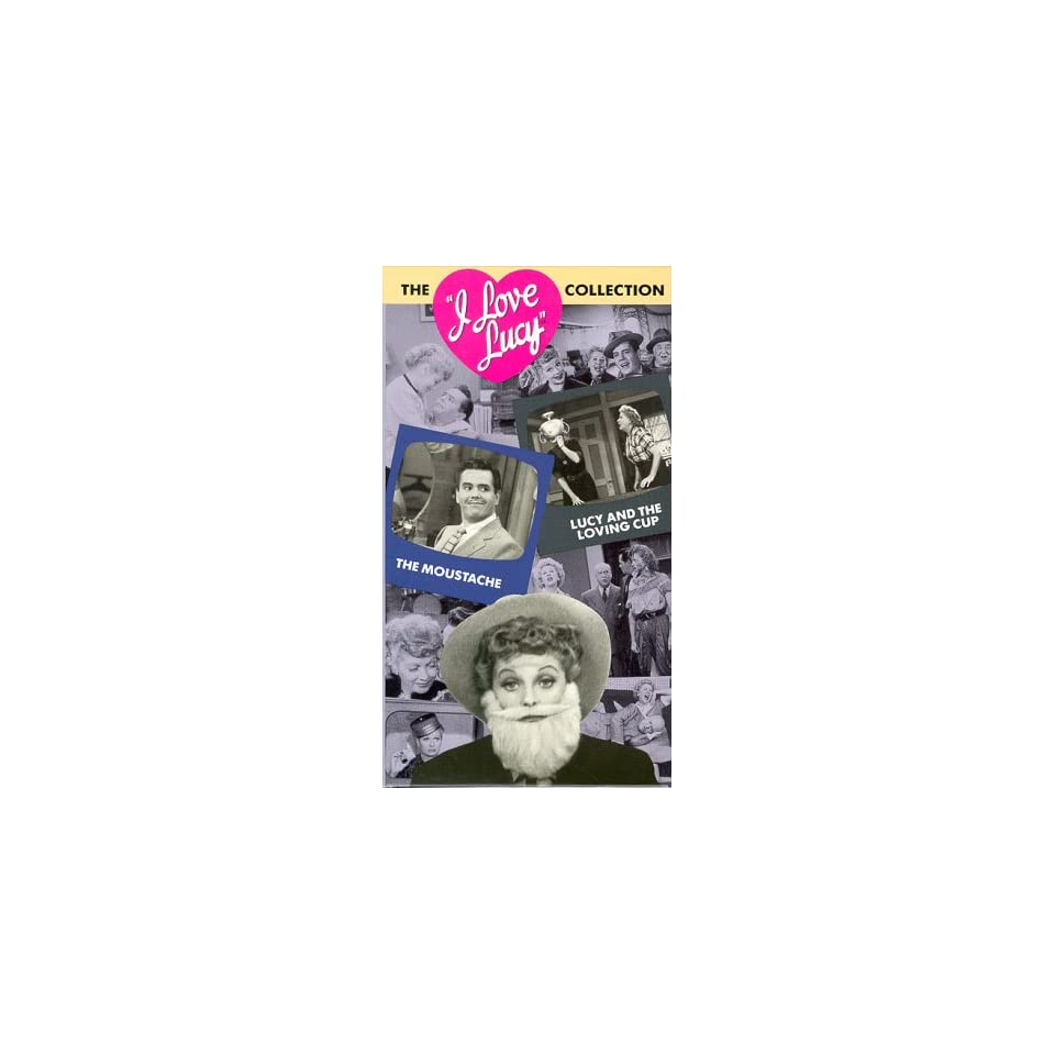 I Love Lucy Vol. 9 Moustache/Lucy & The Loving Cup [VHS]