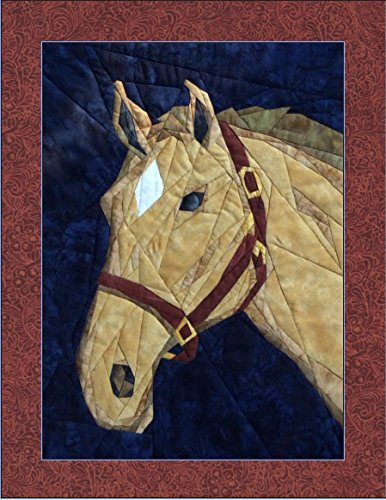 (Horsing Around - NEW Form of Foundation Paper Piecing (Picture Piecing) Pattern - 18 1/4