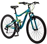 Mongoose Status 2.2 Women's 26' Wheel Mountain Bike 16-Inch/ Teal