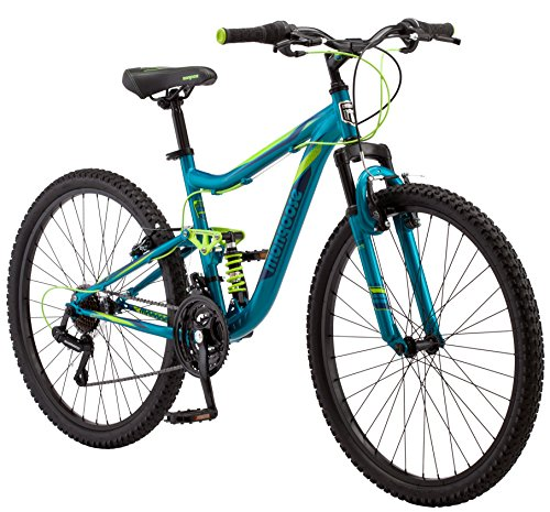 "Mongoose Status 2.2 Women's 26"" Wheel Mountain Bike 16-Inch/ Teal"