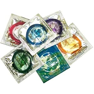 Trustex Assorted Colors Lubricated: 12-Pack of Condoms