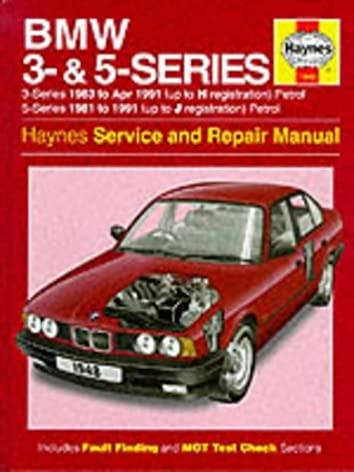 bmw 3 and 5 series service and repair manual (haynes service andbmw 3 and 5 series service and repair manual (haynes service and repair manuals) hardcover \u2013 15 apr 1994