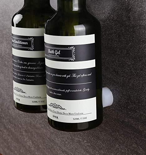 Frylr Soap and Shower Gel Dispenser - Three Chamber Bottles