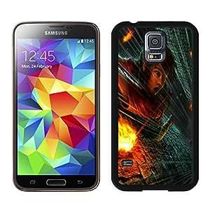 Fashion Custom Designed Link In Trouble Samsung Galaxy S5 I9600 Black Phone Case CR-360