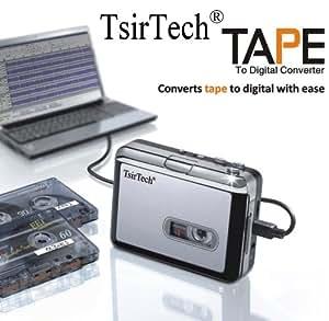 tsirtech audio usb portable cassette tape to. Black Bedroom Furniture Sets. Home Design Ideas