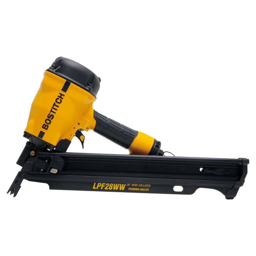 BOSTITCH LPF28WW 28-Degree Wire Weld Framing Nailer - Power Framing ...