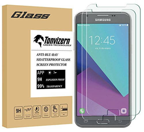 Tempered Glass For Samsung Galaxy J3 Pro (Clear) - 2
