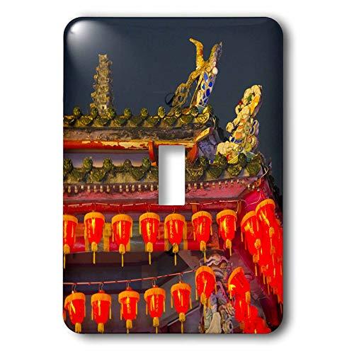 3dRose Danita Delimont - Taiwan - Cixian Temple dedicated to Matsu in Shilin, Taipei, Taiwan - single toggle switch (lsp_312808_1)