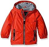 London Fog Baby Poly Fleece Lined Windbreaker, Red, 12 Months