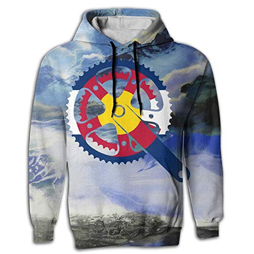 Azckhel Colorado Crank Patterns Print Athletic Fashion Hoodies -