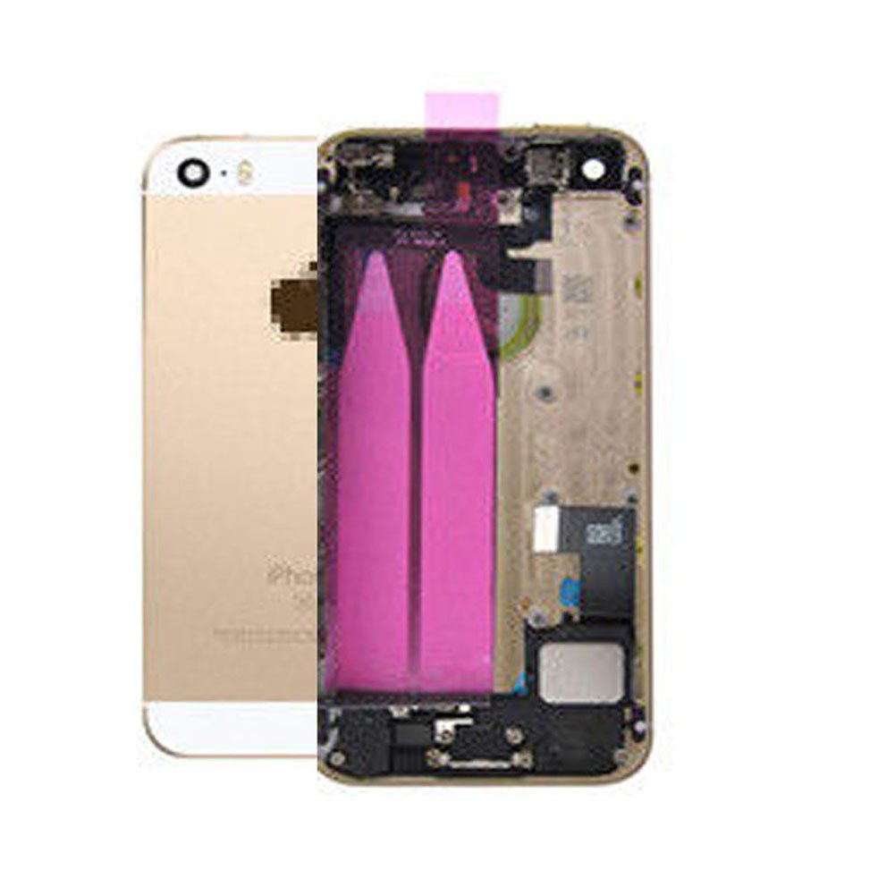 Amazon.com: Full Housing Battery Door For iPhone 5S with Logo Hybrid ...