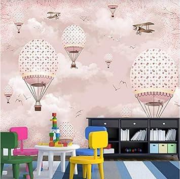 Weaeo Benutzerdefinierte Tapete Kinderzimmer Rosa Mädchen Herz ...